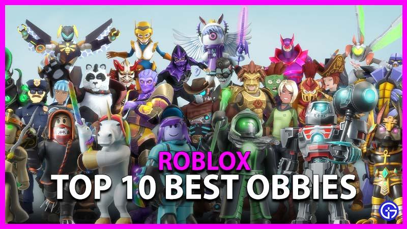 Top 10 Best Roblox Obbys Obbies