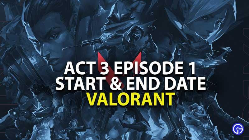 Valorant Episode 3 Act 1 Battle Pass Details