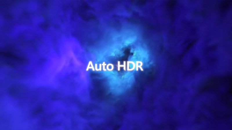 Windows 11 Auto HDR