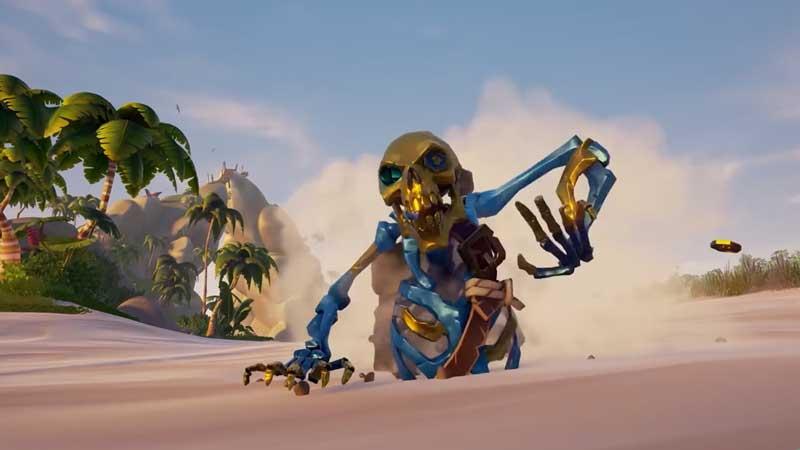 ancient skeleton sea of thieves