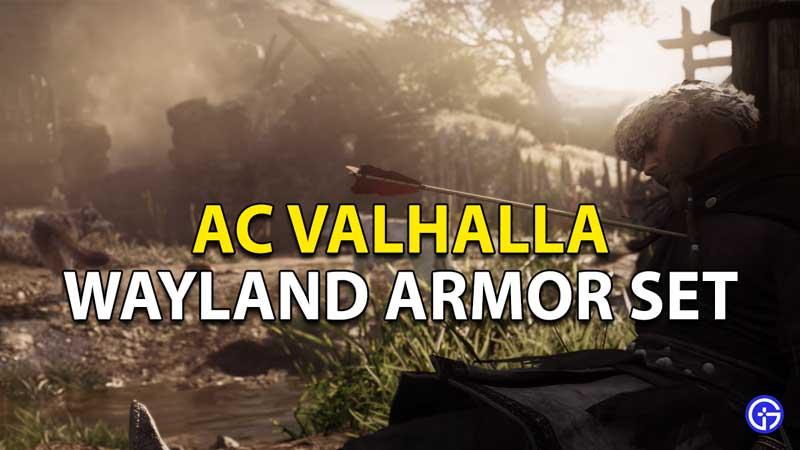 Assassin's Creed Valhalla Wayland Armor Set