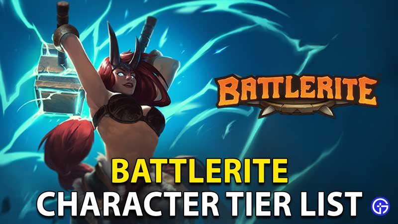 Battlerite Character Tier List