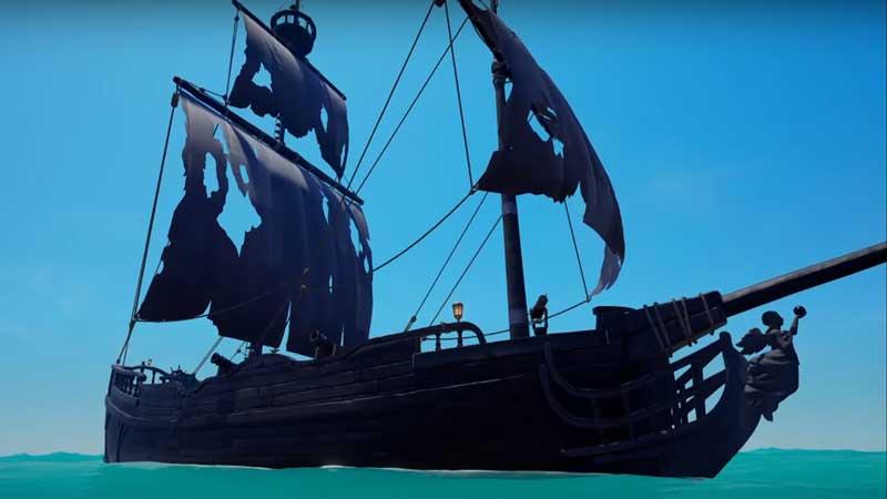 black pearl ship sea of thieves