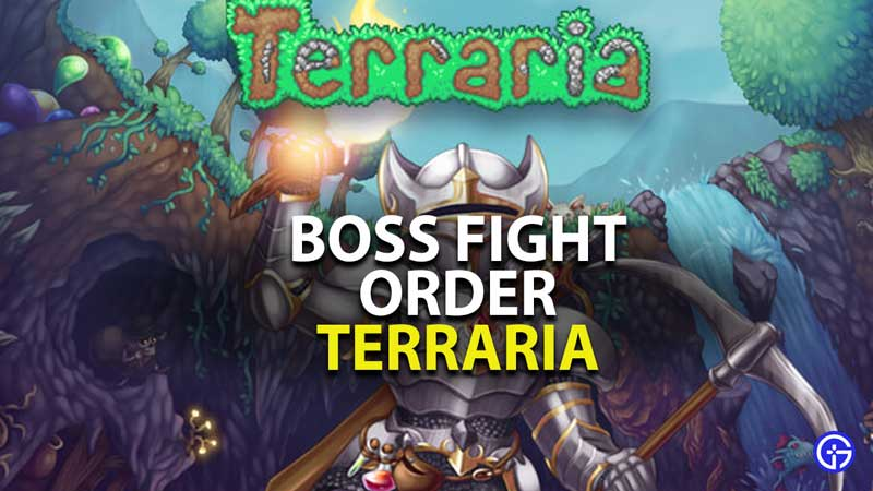 What Order Should You Defeat Terraria Bosses