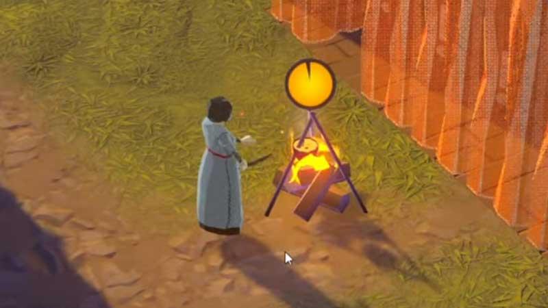 Going Medival Campfire