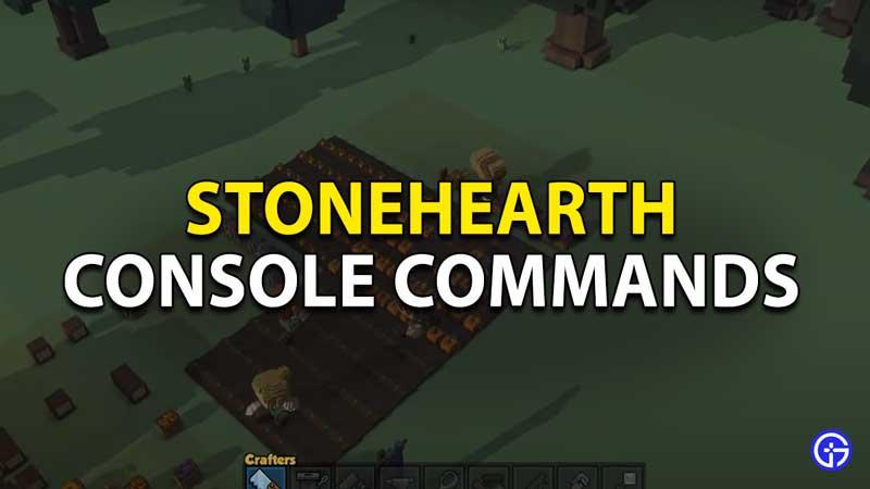 console commands in stonehearth
