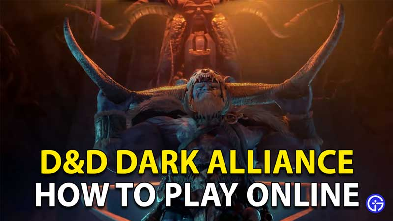 Dungeons And Dragons Dark Alliance: Play Online D & D With Friends