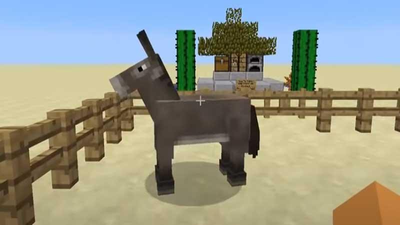 donkey minecraft