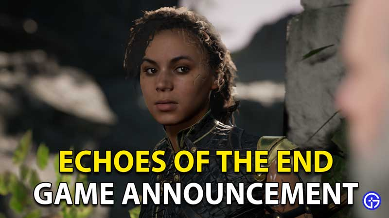 Echoes Of The End Game Announcement