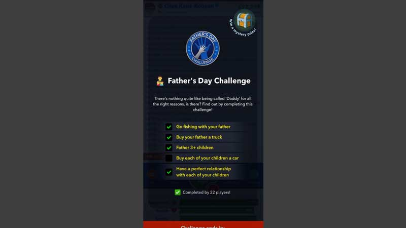 fathers day bitlife