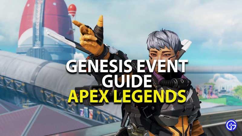 genesis event guide apex legends