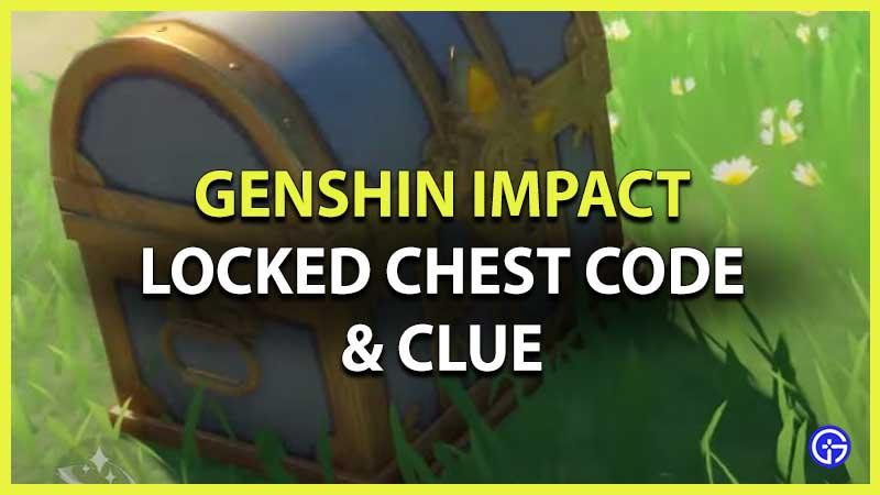 genshin impact locked chest code