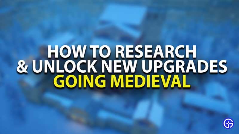 Going Medieval Research Guide