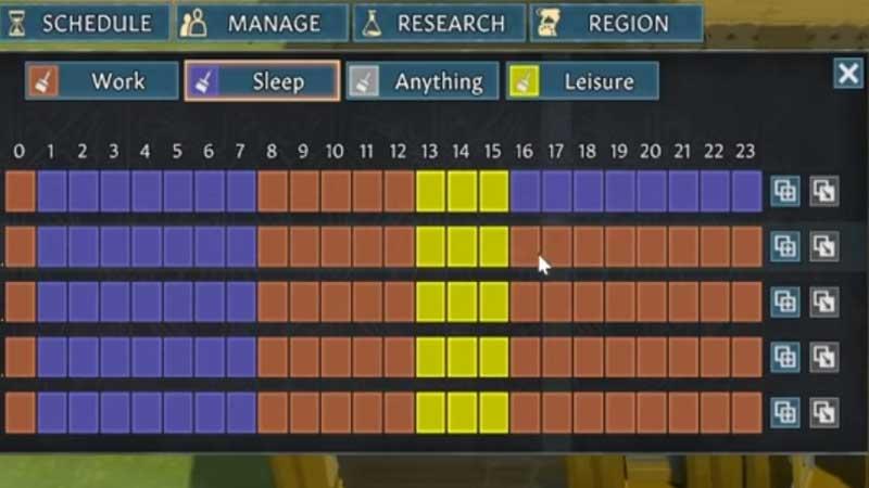 Going Medieval Sleep Pattern