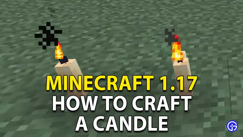 Minecraft: How To Craft Candles