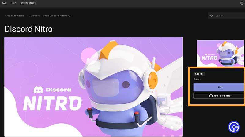 how to claim discord nitro epic games