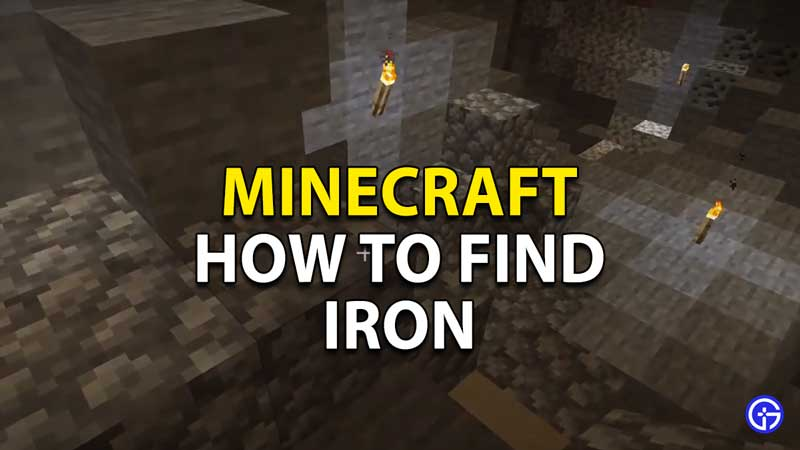 how to find iron
