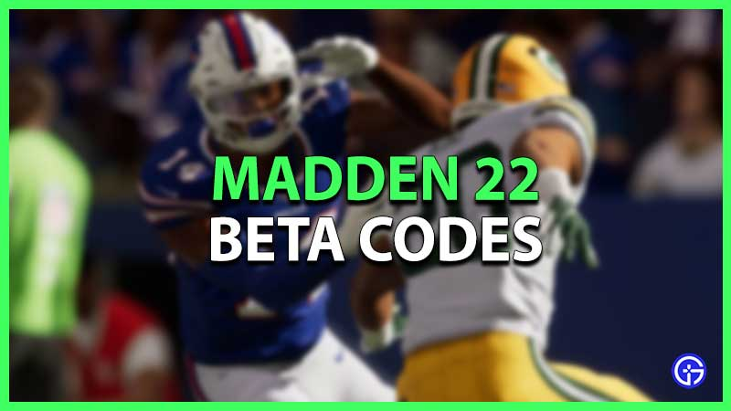 how to get madden 22 beta code