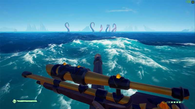 how to kill a kraken sea of thieves