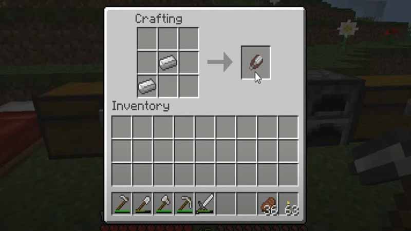 how to make shears in minecraft and their uses