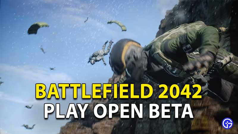 How to play Battlefield 2042 Beta