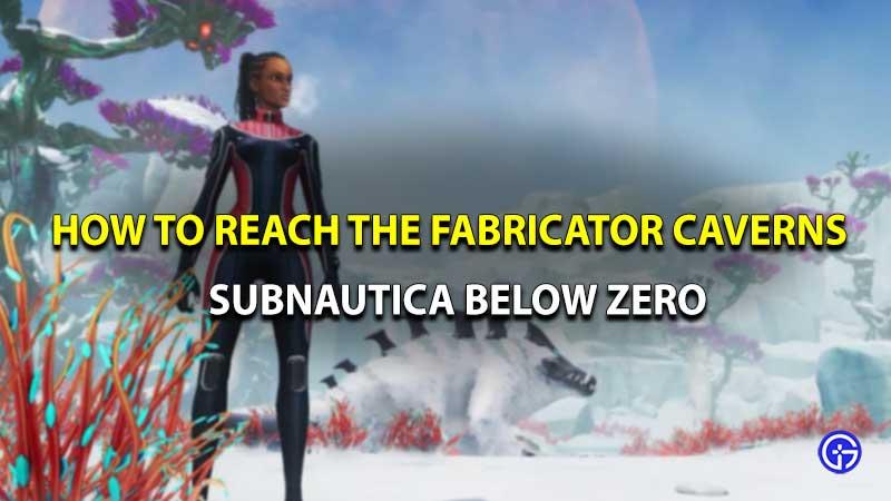 Subnautica below zero fabricator caverns