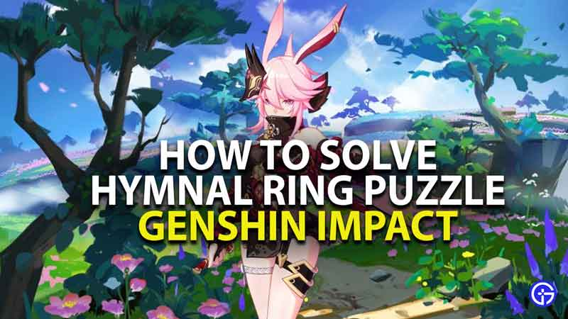 how to solve twinning isle hymnal ring puzzle in genshin impact