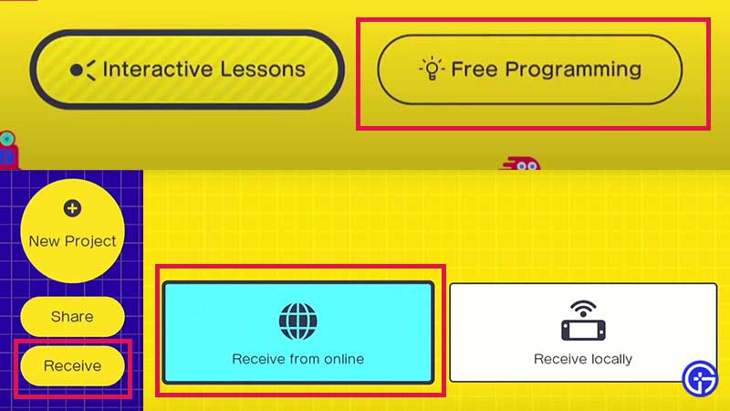 how to use nintendo game builder garage codes