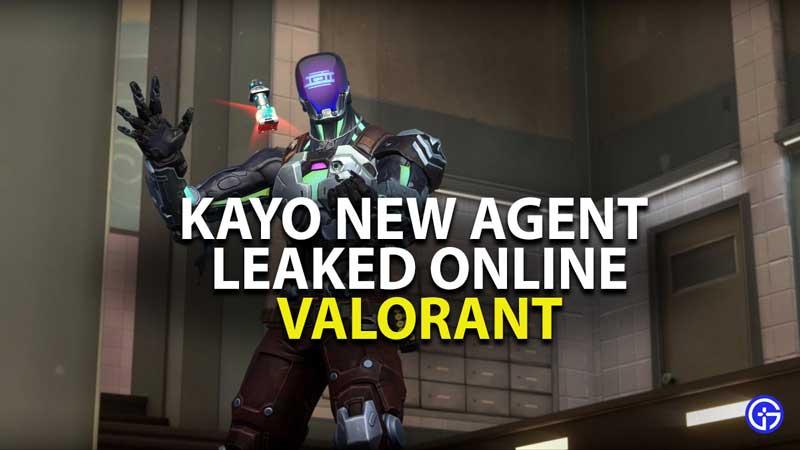 kayo valorant new agent leak