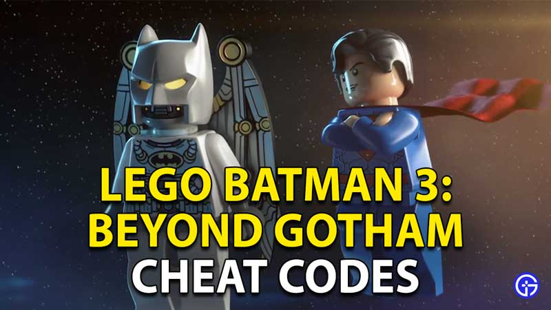 LEGO Batman 3: Beyond Gotham Cheats And Codes