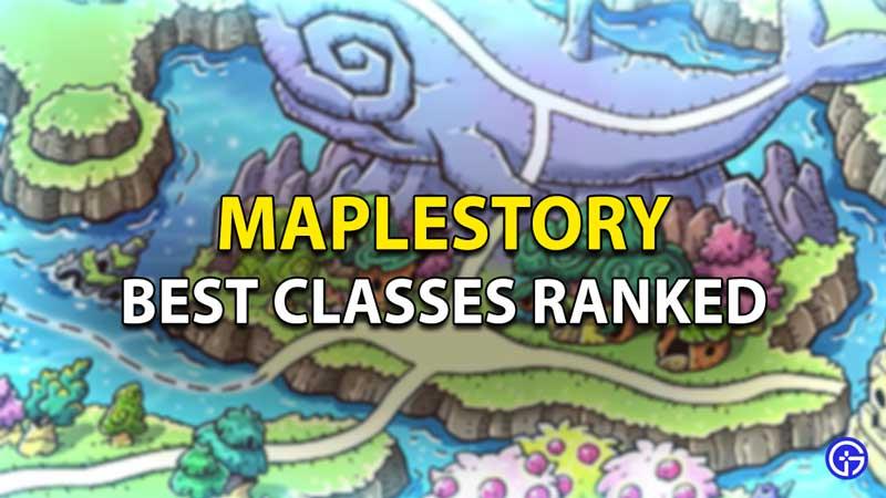 MapleStory Best Classes Ranked Tier List