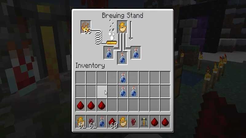minecraft brewing stand