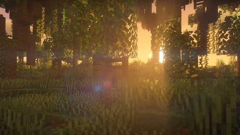 Minecraft BSL shaders pack 1.17