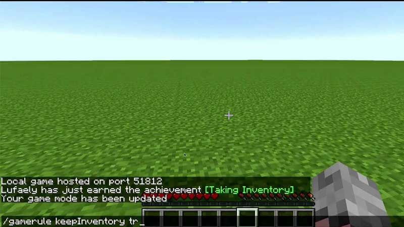 How To Keep Your Inventory Items When You Die In Minecraft
