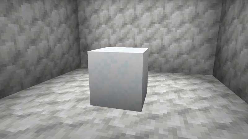 minecraft powder snow block