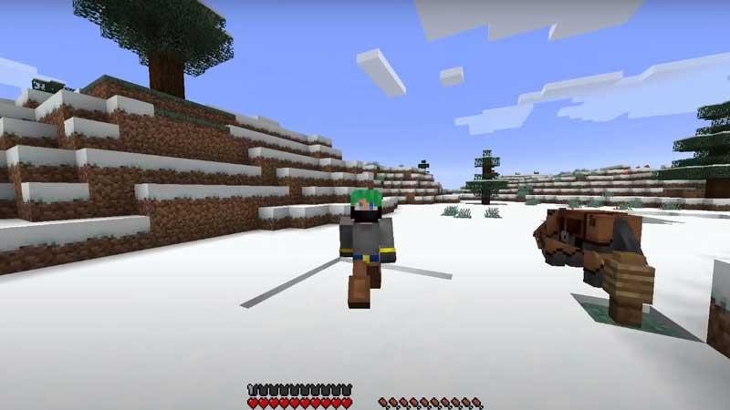 minecraft powder snow uses