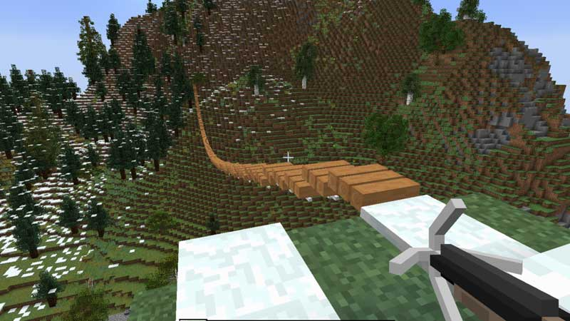 Rope Bridge Mod Minecraft