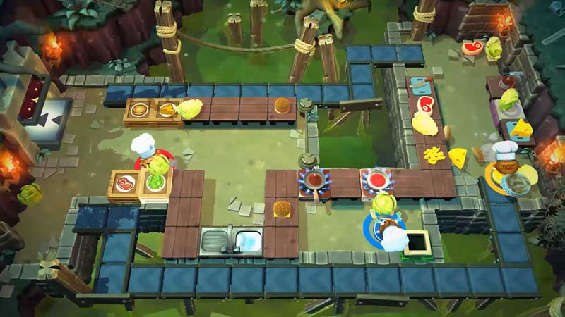 Overcooked 2: How To Chop Lettuce