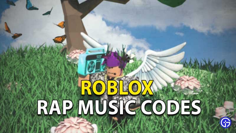 Roblox Boombox Music Codes: Rap Songs
