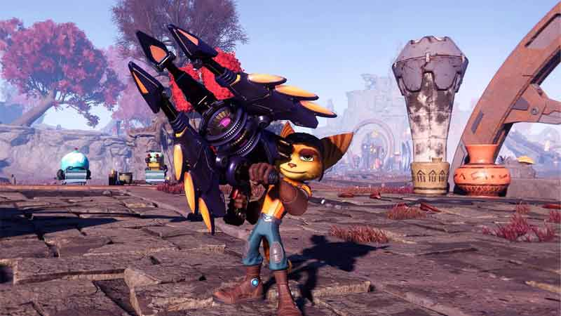 All Weapons In Ratchet And Clank: Rift Apart