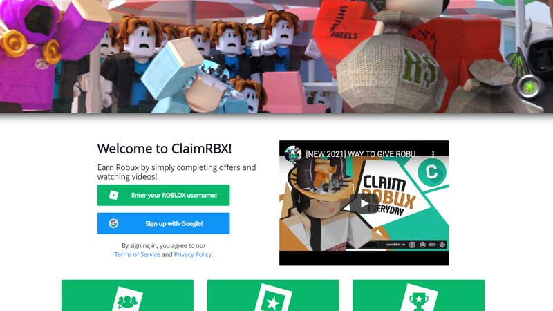 Roblox ClaimRbx Codes for Free Robux