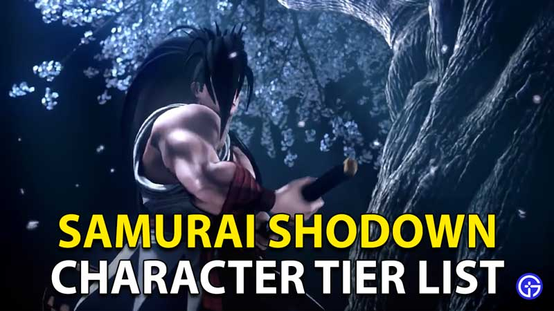 Samurai Shodown Character Tier List 2021: