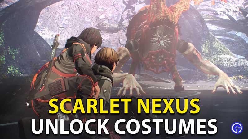 Scarlet Nexus: How To Get Costumes