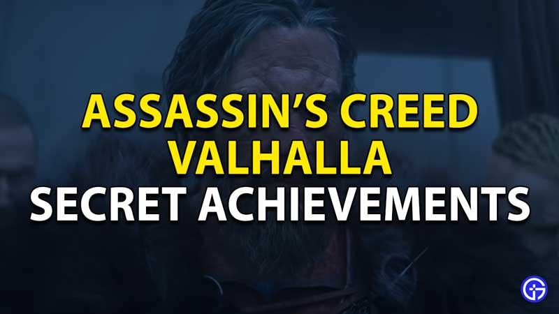 secret achievements in ac valhalla