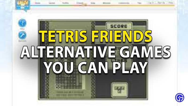 Tetris Friends Shut Down: Alternative Games That You Can Play