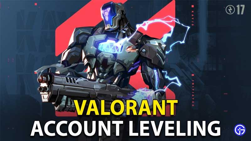 Valorant Account Leveling