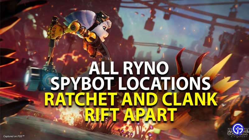 where to find all ryno spybot in ratchet and clank rift apart