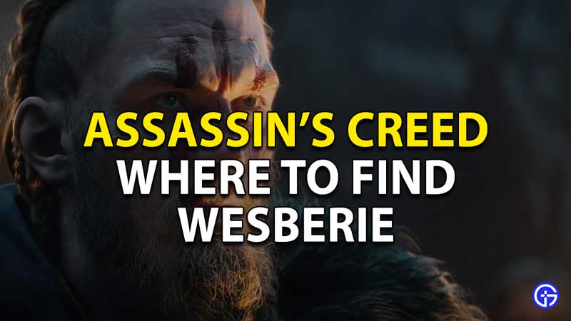 where to find wesberie in ac valhalla