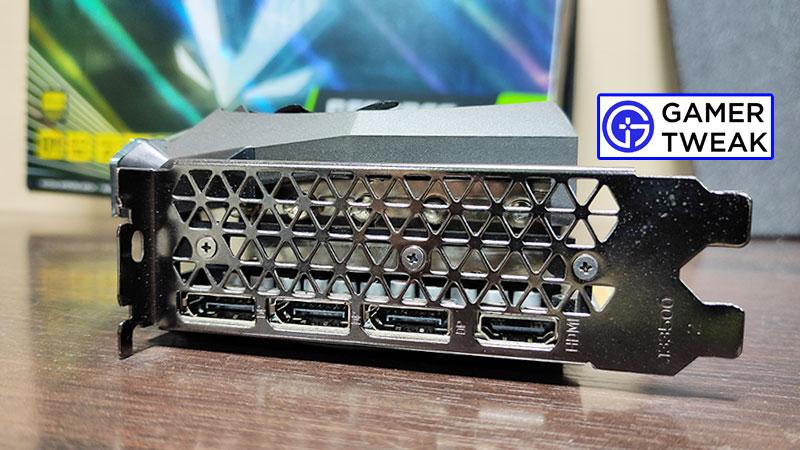 Zotac RTX 3080 Amp Solo Ports