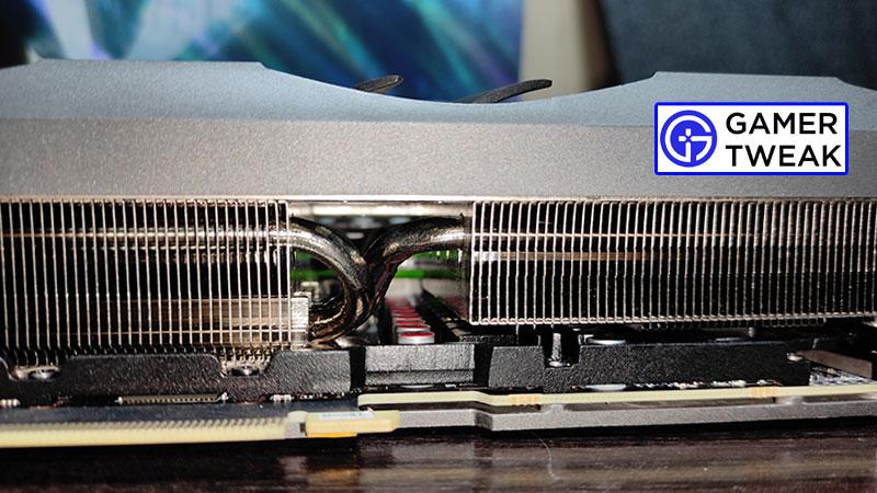 Zotac RTX 3080 Amp Solo Heatsink